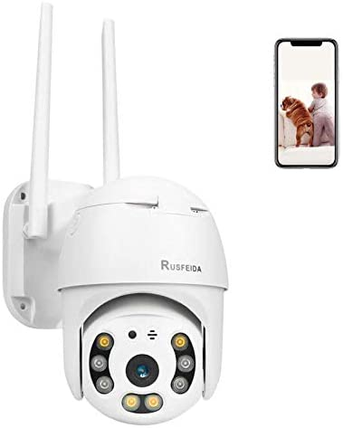 Wireless Security Camera Outdoor WiFi Camera IP Camera HD 1080P Pan Tilt Zoom Camera with IP66 product image