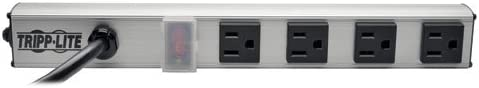 Tripp Lite 4 Outlet Max 45% OFF Bench Cabinet Power Strip in. Length 12 Elegant
