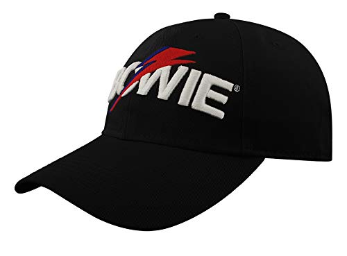 David Bowie Aladdin Flash - Gorra de béisbol, color negro