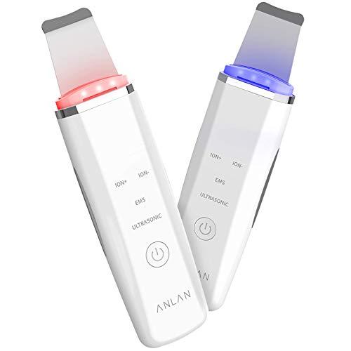 ANLANウォーターピーリング光LED美顔器emsピーリング顔毛穴ケアイオン美顔器超音波美顔器超音波ピーリング小鼻
