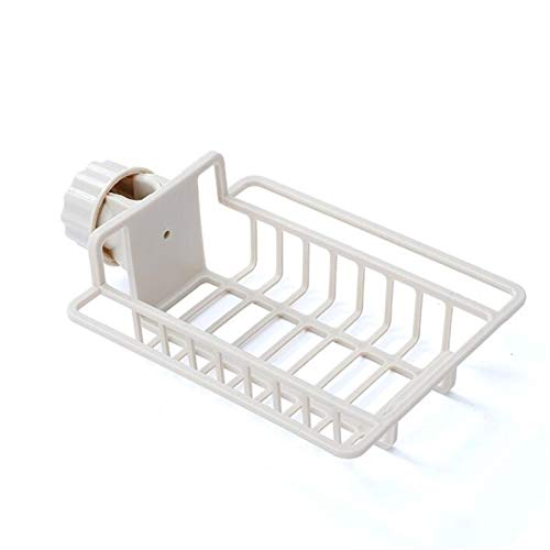 Lavabo de cocina Faucet Sponge Soporte de jabón Rack de drenaje, Rack de almacenamiento del grifo, Cocina Organizador de fregadero, Rack de grifo Dibujo Stick para Jabón, Esponjas ( Color : B )