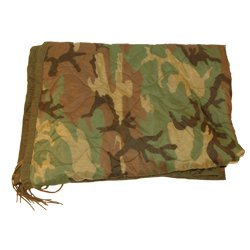 Liner, Wet Weather, Camouflage Poncho Liner