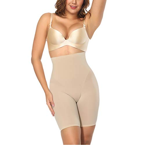 Sweetlover mieder Damen High Waist Tummy Control Shorts Thigh Slimmer Shapewear Pants for Women Seamless Shaping Panties Panty Slimming Butt Lifter
