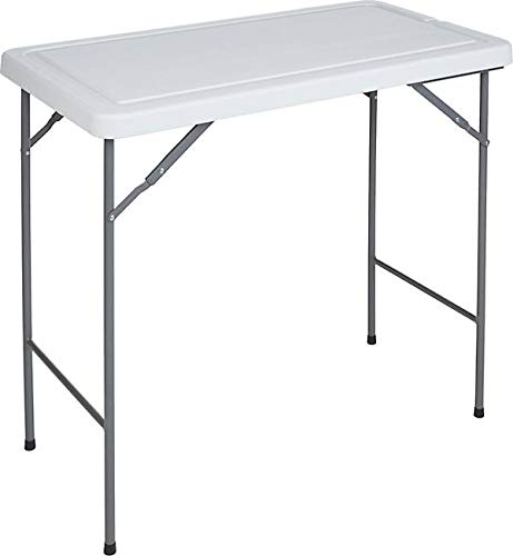RITE-HITE Multi Function Folding Table - Ideal for Outdoor Use, Fish Filleting, Folding Legs, Sloped Drain, Camping, Campsite Preperation, Food Prep, Backyard BBQ