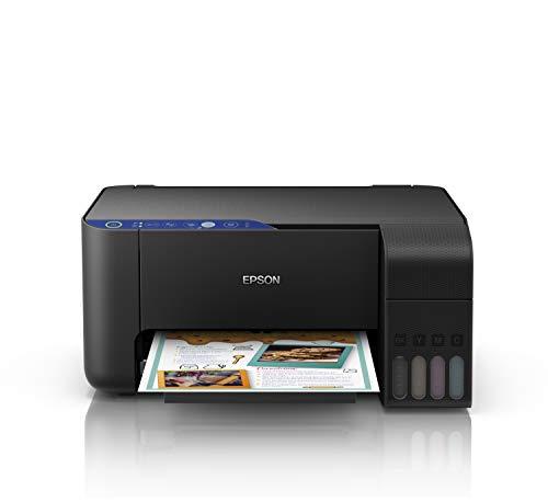 Epson EcoTank ET-2711 | Impresora Wi-Fi A4 Multifunción | Copia   Escaneado   Impresión