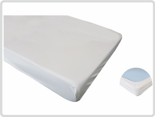 Matratzenschoner wasserdicht PVC 90x220 cm - Spannbettschutz Spannbettlaken Matratzenschutzbezug