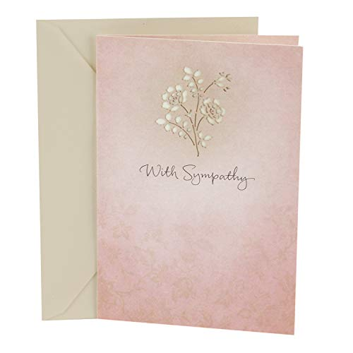 Hallmark Sympathy Card (Thoughts and Prayers)