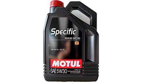 Motul 5 Liter Specific SAE 5W30 504 00 507 00, ACEA C3