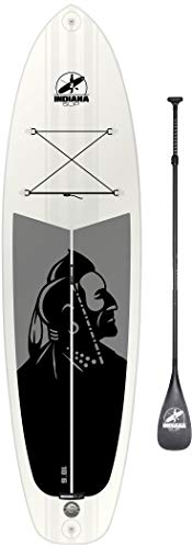 Indiana SUP 10'6 Allround Aufblasbares SUP Board Pack Premium with 3-Piece Carbon Paddle 2018 Schwimmbrett
