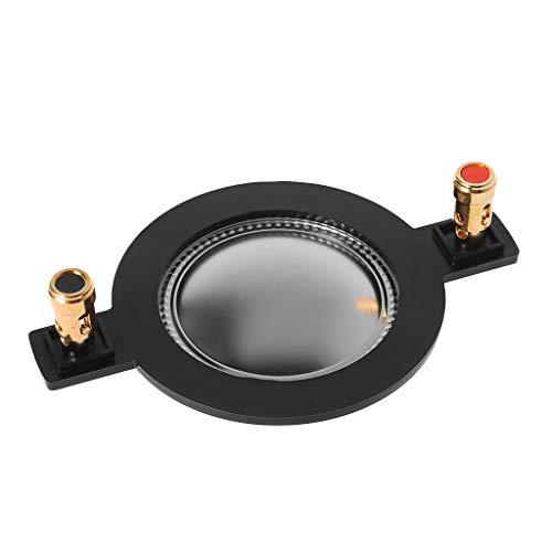 SimpleLife 44mm Audio Altavoz Película de Titanio/Membrana de Alto Tono Reemplazo de Bobina de Voz Diafragma de Alta/Aguja de Voz Carrete Tweeter Tweeter Accesorio
