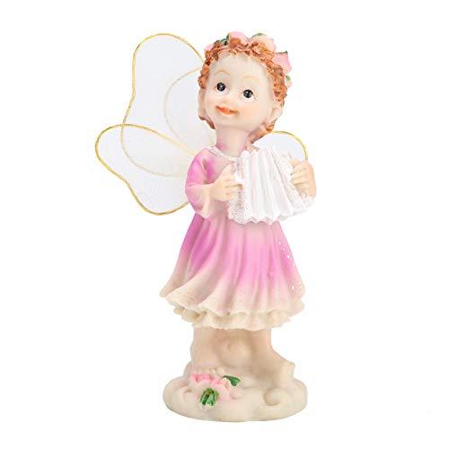 庭の妖精の装飾、装飾品風光明媚なスポットのショッピングモールのための実用的な美しいシミュレートされた花の妖精の置物の装飾