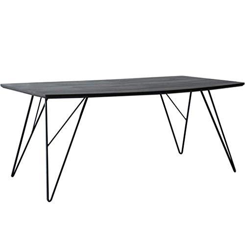 Home Beistelltisch Schreibtischeinfache Mini Beistelltisch Holz Tischplatte Metallrahmen Schlafzimmer Balkon Moderne Möbel, BOSS LV