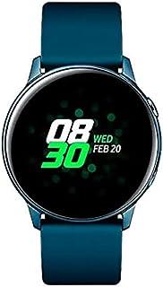 Samsung Galaxy Watch Active, Bluetooth fitnessarmband voor Android, fitnesstracker, 40 mm, waterdicht, groen (Duitse versie)