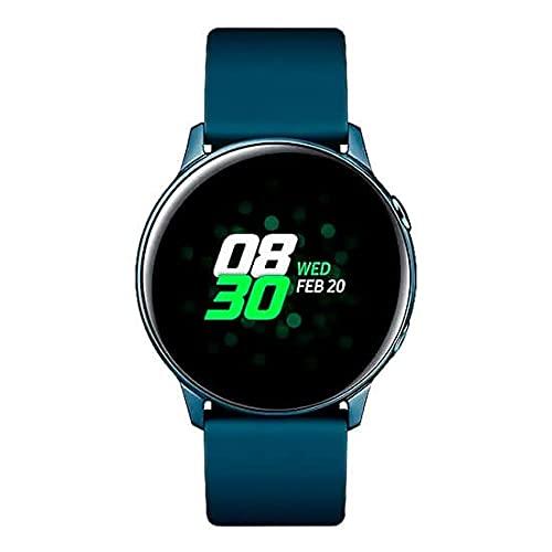 """Samsung Galaxy Watch Active smartwatch Verde SAMOLED 2,79 cm (1.1"""") GPS (satellitare)"""