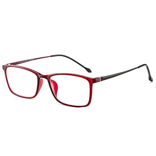 CXNEYE Gafas De Lectura Anti-luz Azul A La Moda Y Juveniles para Mujer, Resistentes A La Radiación, Antifatiga, Cómodas Gafas De Alta Definición