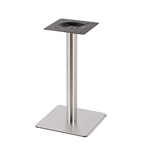 YXB Meubelsteun voet Geborsteld oppervlak roestvrij staal tafelpoten dessert winkel restaurant eettafel tafel poten vierkante tafel poten beugel metalen standaard