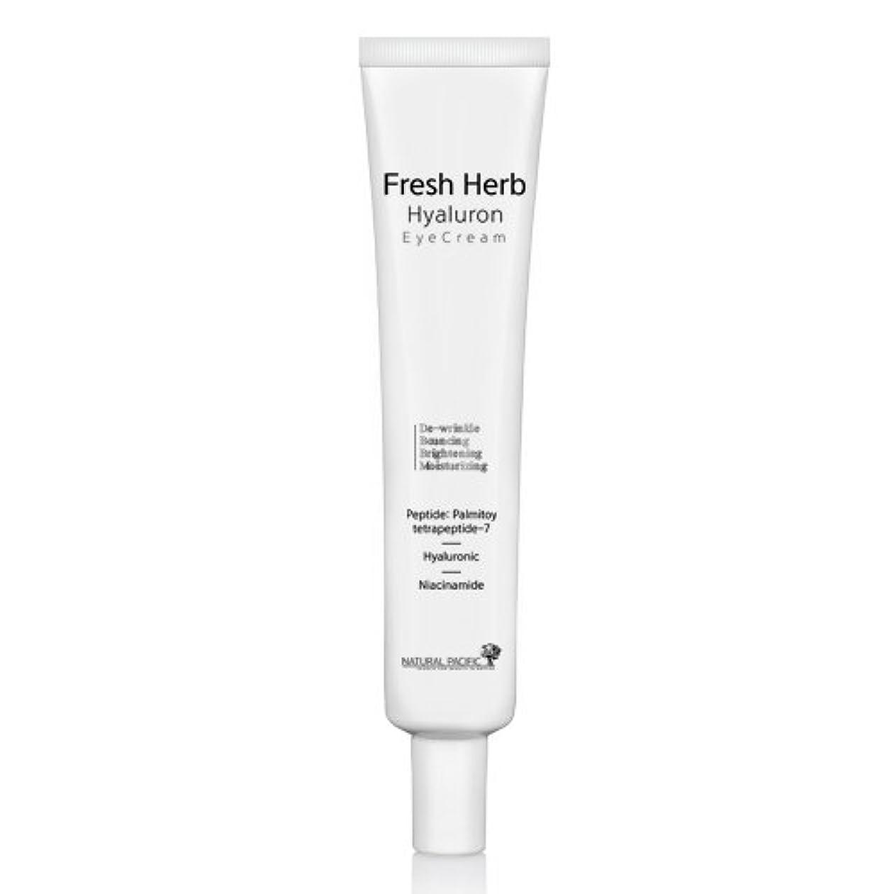 NATURAL PACIFIC Fresh Herb Hyaluron Eye Cream 30ml/ナチュラルパシフィック フレッシュ ハーブ ヒアルロン アイクリーム 30ml [並行輸入品]