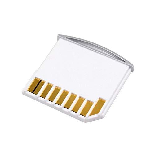 LWSJ Adaptador de Tarjeta de Memoria Adaptador de Kit de Tarjeta Micro SD TF a SD para MacBook Air/Pro/Retina White