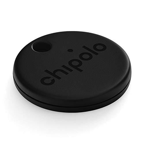 Chipolo ONE (2020) - Lautester Wasserresistentes Bluetooth Schlüsselfinder (Schwarz)