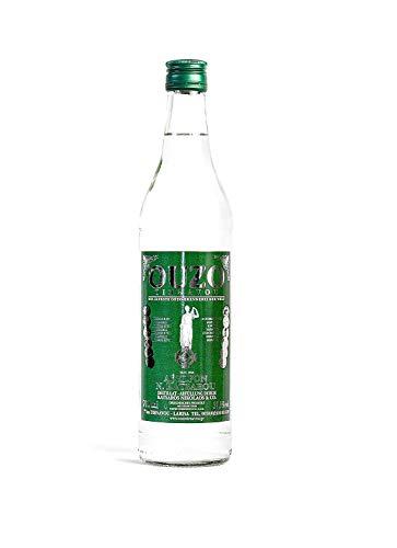 Premium OUZO   Uzo aus Griechenland (USO)   Anis likör   Anis schnaps   mild   Geschenk   1x 700ml Glas Flasche