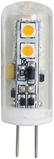 Kichler 25-Watt EQ Warm White Light Bulb LED Landscape Light Bulb 12V 2 watt Low Voltage T4 Bulb G4 bi-pin Base