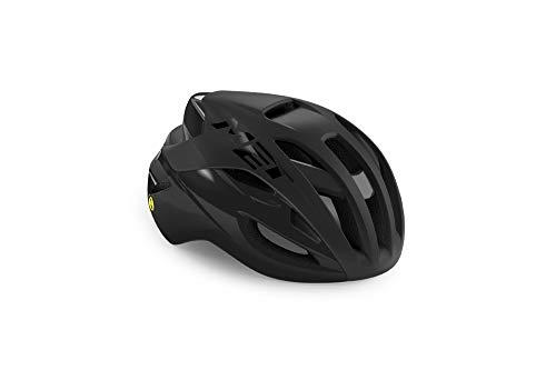 MET Rivale Helm Black Matte Glossy Kopfumfang L | 58-61cm 2021 Fahrradhelm