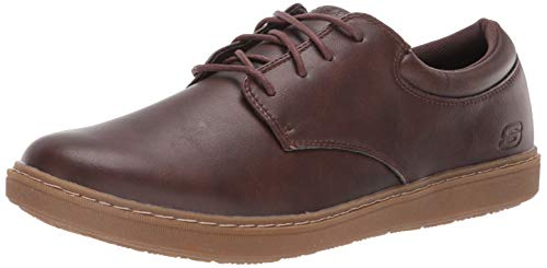 Skechers Lanson Escape da uomo, Marrone (Cioccolato), 43.5 EU