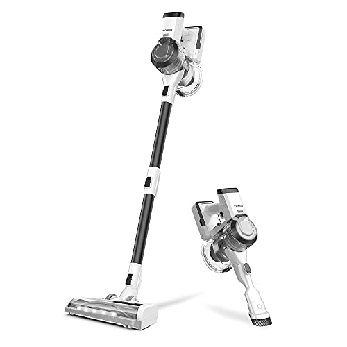 Tineco PWRHERO11 Snap Cordless Vacuum Cleaner, Lightweight Handheld Stick Vac 120W Powerful Suction for Carpet, Hard Surface, Pet Hair