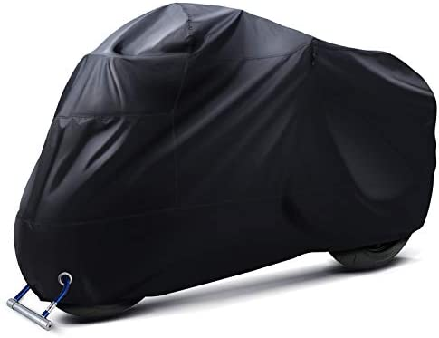 Ohuhu Motorcycle Cover All Season Universal Weather Premium Quality Waterproof Sun Outdoor Protection product image