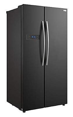 Russell Hobbs American Style Fridge Freezer, 90cm Wide, Side by Side, A+ Efficiency, RH90FF176R- 2 Year Warranty**