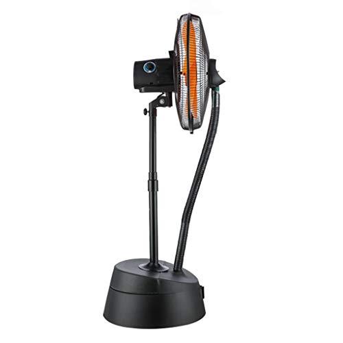 Industrieventilator Qualitätsnebelventilator Standventilator Kühlventilator Oszillierende Standventilatoren Flüsterleiser Oszillierender Turmventilator, 5 Flügel für Heim und Büro