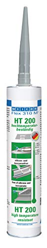 Weicon 13655310 Flex 310 M HT 200 MS-polymeer bestand tegen hoge temperaturen 1-componenten lijm