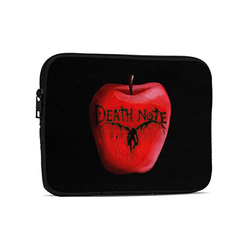 Anime Popular Death Note Ryuuku Laptop Sleeve Case Bag Cover Lightweight Notebook Computer Liner Bag Shockproof Casual Carrying Cover Briefcase Ultra Portable Bag 7.9 Inch