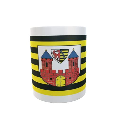 U24 Tasse Kaffeebecher Mug Cup Flagge Lauenburg (Elbe)