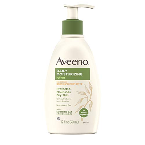 Aveeno Daily 12oz Lotion w/ SPF 15 Now $3.79