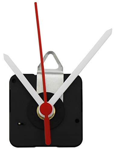 MC POWER - Quarzuhrwerk | CQ-5001 | inkl. 1x Kunststoff-Zeigersatz, lautlos, schleichend | flexibel einsetzbar. kann vorhandes Uhrwerk ersetzen oder für die kreative Gestaltung eigener Ziffernblätter verwendet werden | perfekt zum basteln