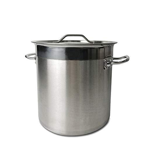 TAIMIKO Suppentopf Edelstahl Kochtopf 25-115 Liter Suppentöpfe Universaltopf Gemüsetopf (05-36DT)