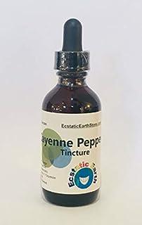 Organic Cayenne Pepper Tincture ~ 2 Ounce Bottle ~ Capsicum annuum