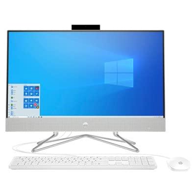 Todo En Uno HP 24-dp0014ns AiO, Intel i3-10100T (3.0GHz), 8GB RAM, SSD 512GB PCIe NVMe, WiFi, Bluetooth, Webcam, 23.8' FHD UWVA LED, Windows 10 Home (Reacondicionado)