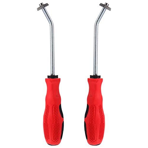 VILLCASE Herramienta para la eliminación de juntas, 2 unidades, herramienta para juntas de azulejos, rascador para juntas de azulejos, cepillo para la limpieza de juntas para la oficina o la cocina