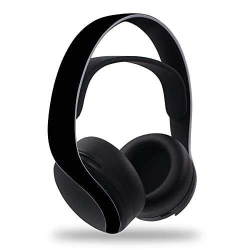 Lámina protectora adhesiva para juegos, consolas de auriculares, carcasa de vinilo para protección contra arañazos, diseño perfecto, autoadhesivo R141 (auricular, n.º 42), color negro mate