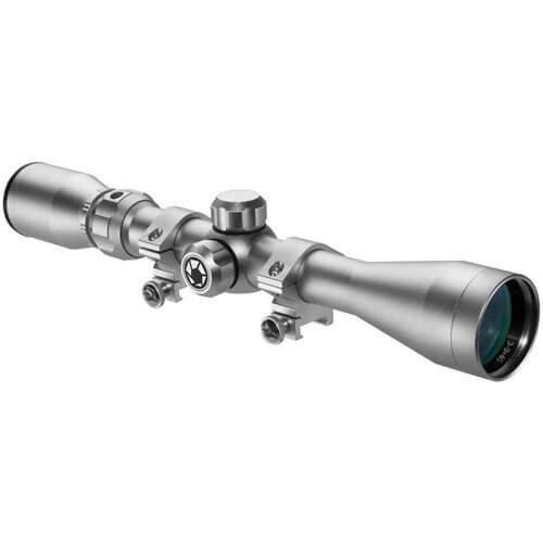 Barska 3 9x40mm 30Rifle Scope Silver