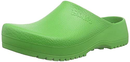 Birki's Unisex-Erwachsene Super Birki Clogs, Apple Green, 47 EU