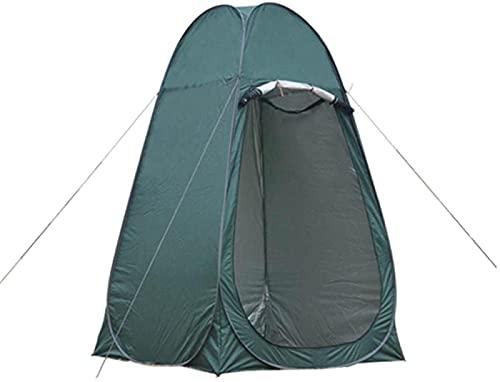 Carpa para ducha, carpa para inodoro para acampar, ducha emergente, privacidad, cambiador para exteriores, vestuario, carpas para sala de almacenamiento, transporte portátil-green_47.2 x 47.2 x 74.8in
