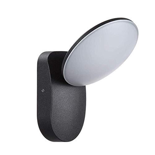 Modern Verstelbare Opbouw Wandlamp Device, LED Warm wit plafond Spotlight, Creative Modeling Light, for tuin, Veranda, 3000K (No Sensor)
