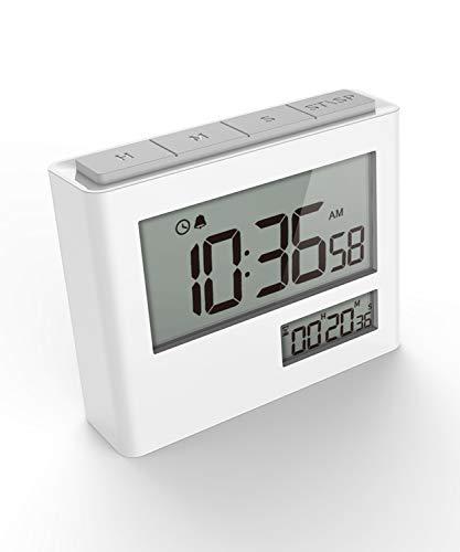 VOLUEX Digitaler Küchentimer mit Countdown/Stoppuhr, Kurzzeitmesser Eieruhr (Befestigung via Magnet) Ideal Küchenuhr Timer zum Kochen, Backen, Sport, Studieren usw
