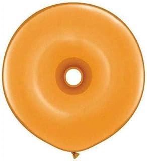 Qualatex ラテックスバルーン 37800-Q ジオドーナツ マンダリンオレンジ 16インチ