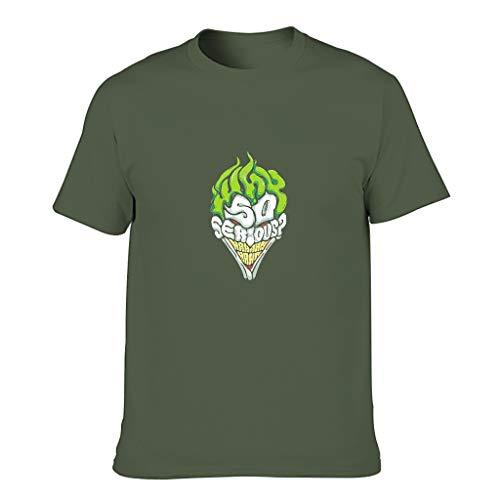 Camiseta de algodón de Halloween para hombre - Películas cuello redondo Top Wear