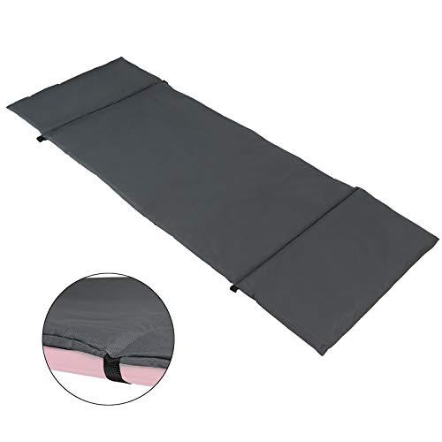 BB Sport universelle Feldbettauflage XXL Maße 200 x 70 cm schützt wärmt und hält, mit Befestigungsbändern
