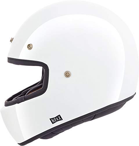 NEXX X.G100 Purist - Casco integrale da moto, colore: Bianco